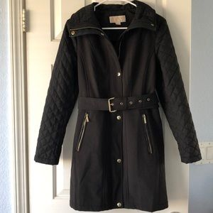 Winter Coat / Jacket with gold hardware